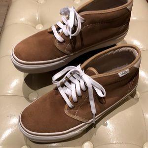 Vans suede higher rise sneaker Men's size 8.5